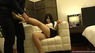 after she prepares cunt connected with fingers Otowa Ayako is ready for rough sex