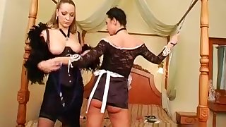 Stunning young hottie learns notwithstanding how to swell up dick properly